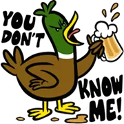 Party Fowls Sticker 15