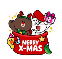 Brown & Cony's Snug Winter Date Sticker 10