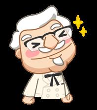 Colonel Sanders Çıkartma 28