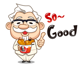 Colonel Sanders Sticker 10