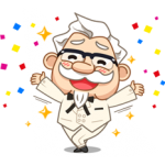 Colonel Sanders Sticker 11
