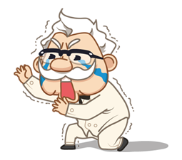 Colonel Sanders Sticker 13