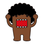 Domo Kun Sticker 2