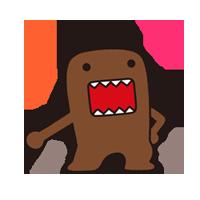 Domo Kun Sticker 3