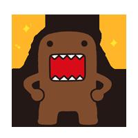 Domo Kun Sticker 6