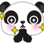 Go-Go Panda Sticker 2