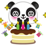 Go-Go Panda Sticker 3
