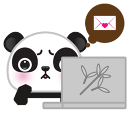 Go-Go Panda Sticker 4