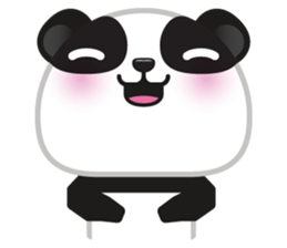 Go-Go Panda Sticker 6