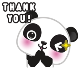Go-Go Panda Sticker 7