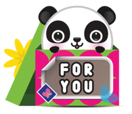 Go-Go Panda Sticker 8