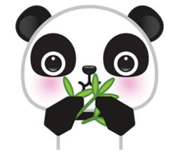 Go-Go Panda Sticker