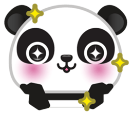 Go-Go Panda Sticker 11