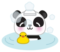 Go-Go Panda Sticker 13
