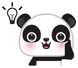 Go-Go Panda Sticker 14