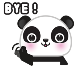 Go-Go Panda Sticker 15
