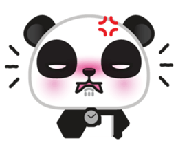 Go-Go Panda Sticker 17