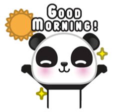 Go-Go Panda Sticker 21