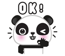 Go-Go Panda Sticker 22
