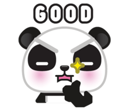 Go-Go Panda Sticker 23