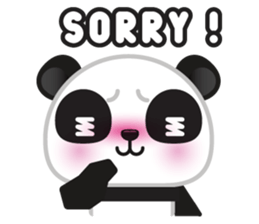 Go-Go Panda Sticker 24