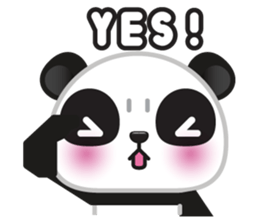 Go-Go Panda Sticker 26
