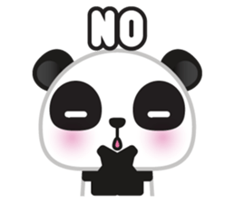Go-Go Panda Sticker 27