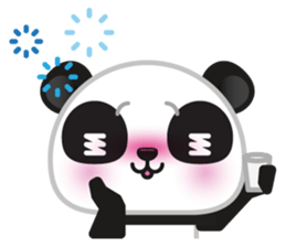 Go-Go Panda Sticker 28
