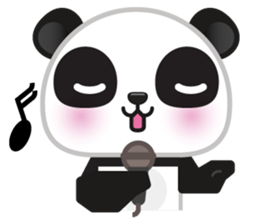 Go-Go Panda Sticker 29