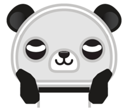 Go-Go Panda Sticker 30