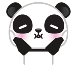 Go-Go Panda Sticker 32
