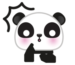 Go-Go Panda Sticker 34