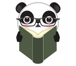 Go-Go Panda Sticker 36