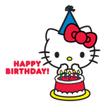 Hello Kitty Limited Edition matrica 1