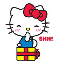 Hello Kitty Limited Edition Sticker 2