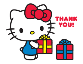 Hello Kitty Limited Edition Sticker 4
