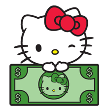 Hello Kitty Limited Edition Sticker 8