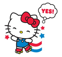 Hello Kitty Limited Edition Sticker 12