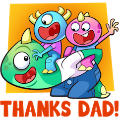 Joys Of Parenthood Stiker 22