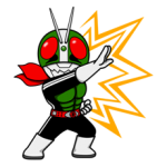 Masked Rider Sticker 18