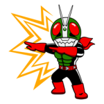 Masked Rider Sticker 19