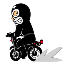 Μασκοφόροι Rider αυτοκόλλητο 34