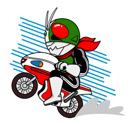 Masked Rider Sticker 37