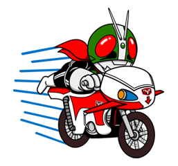 Masked Rider Sticker 38