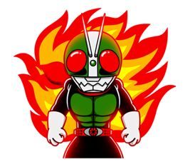Masked Rider Sticker 40