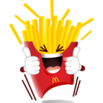 Sticker McDonald 1