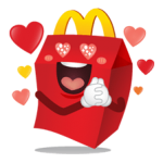 McDonalds Sticker 2