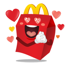 McDonald's Sticker 2