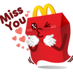 Sticker McDonald 5