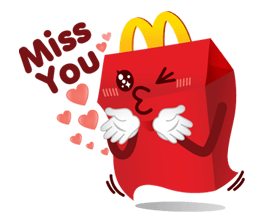 McDonald's Sticker 5